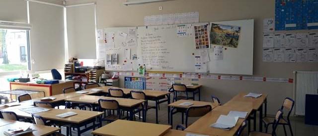 Salle de classe CP