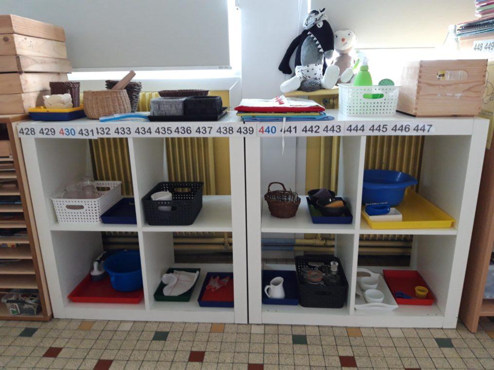 matériel a tendance montessori école maternelle privée roubaix